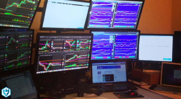 Day Trading work station