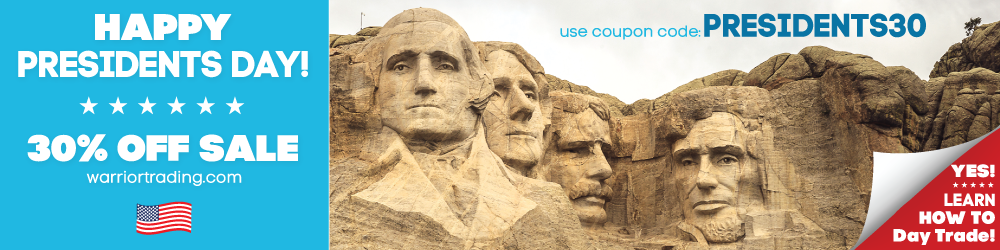Coupon Presidents Day