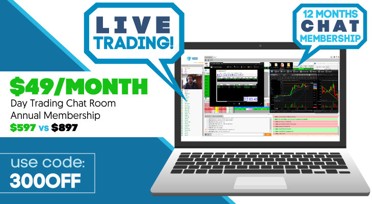 day trading chat room annual coupon warrior trading