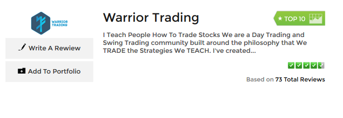 warrior trading review