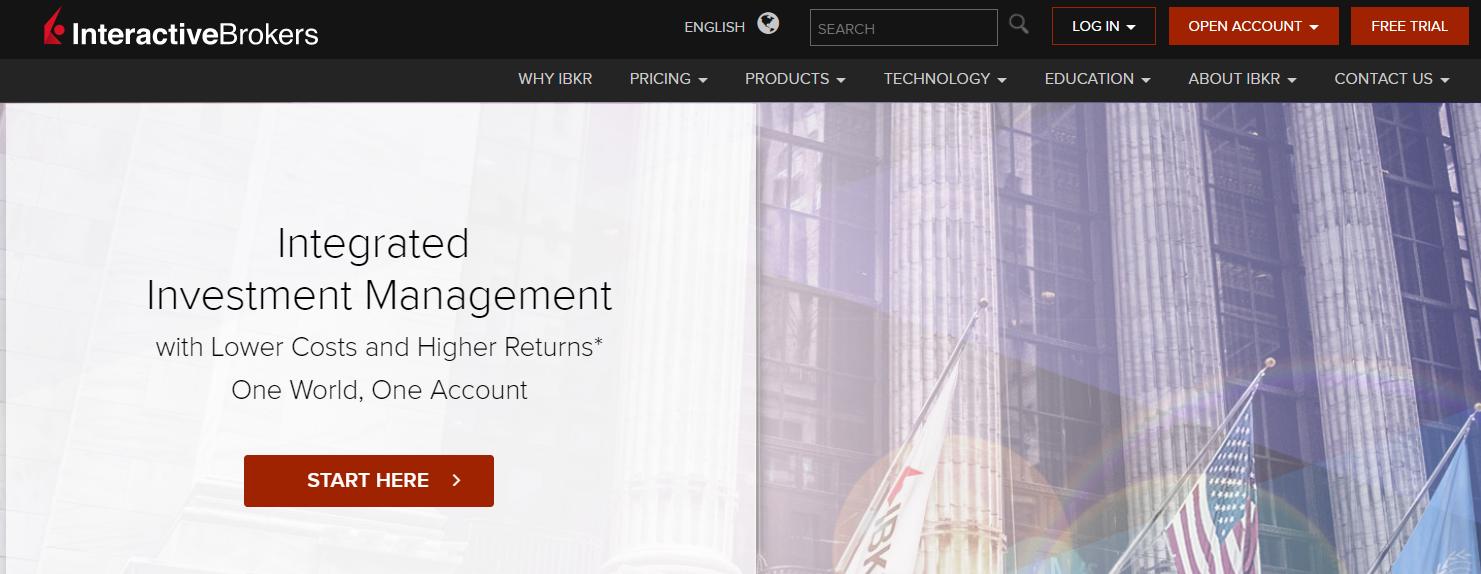 Interactive brokers options order