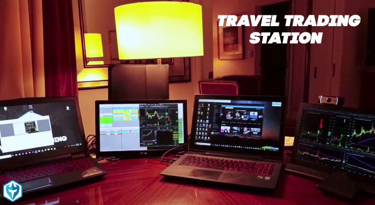 traveling trading station