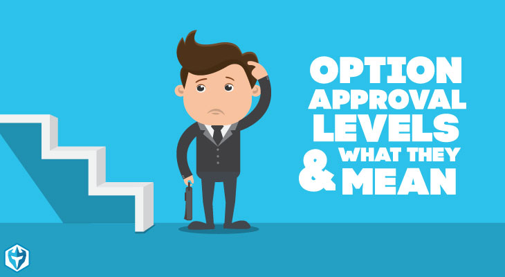 Options trading approval