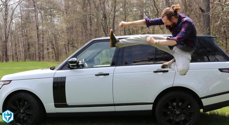 blog Ross Karate kick