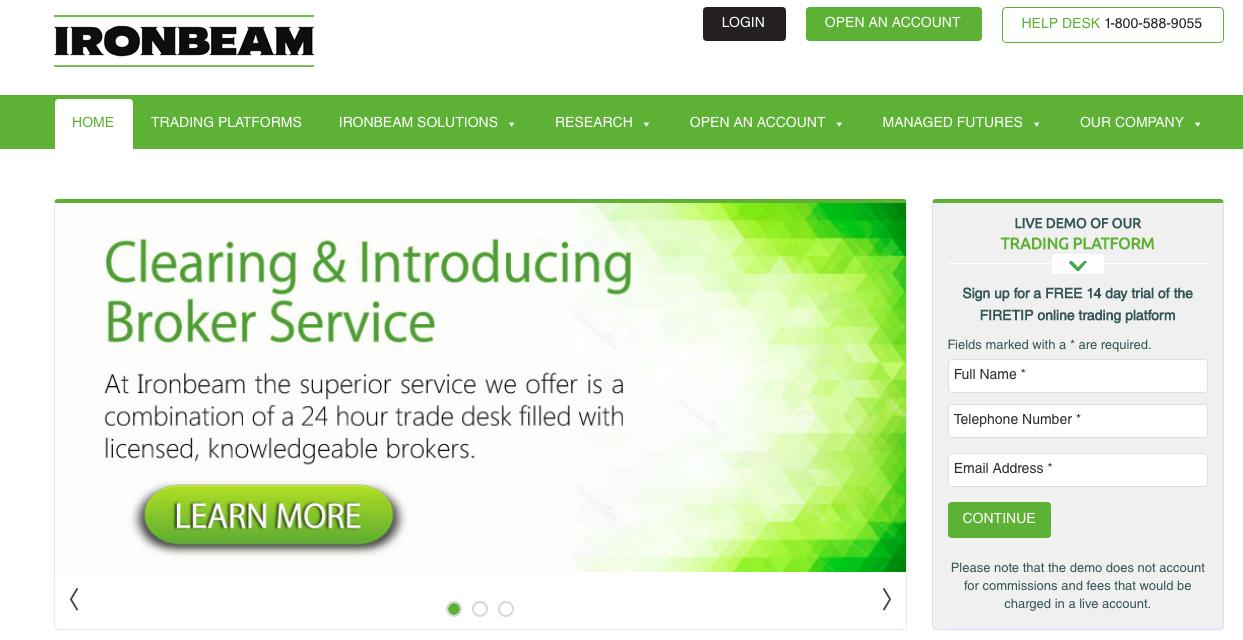 Iron Beam homepage