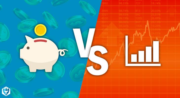 savings vs. stocks