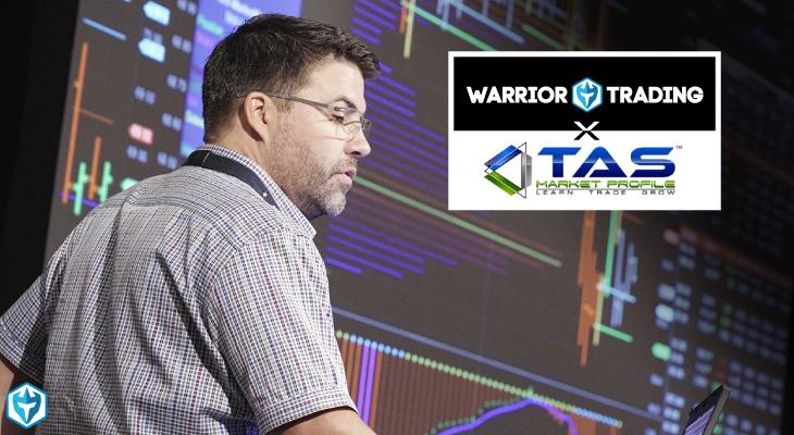 Warrior Trading X TAS Market Profile