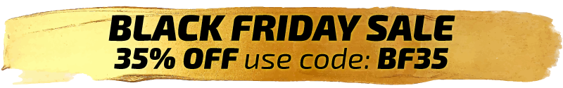 Black Friday 35% off use code BF35