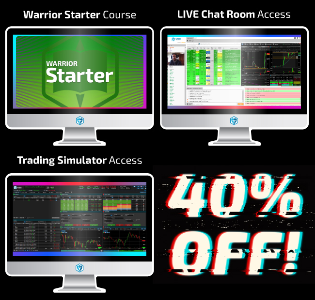 40% off Warrior Starter!