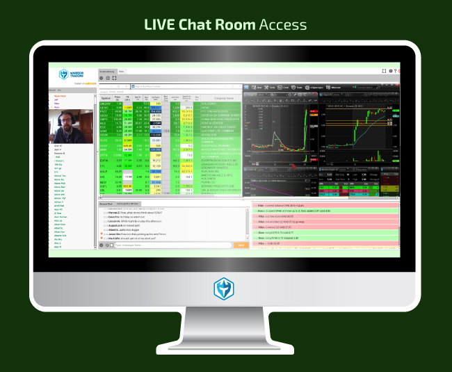 Warrior Trading Chat Room St. Paddy's