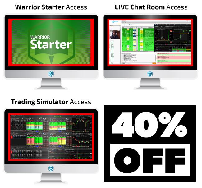 Warrior Starter Course Illustration 40% OFF!