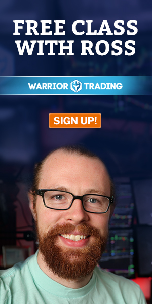 Warrior Trading Signup Webinar