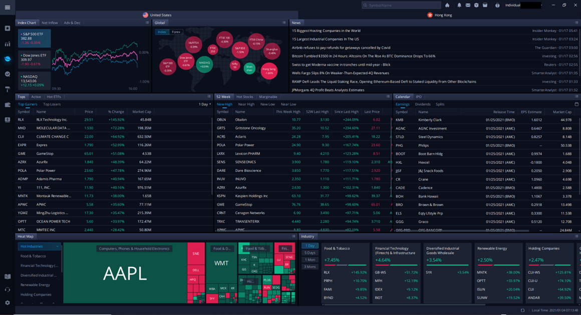 Webull Desktop Review [2021]: How It Compares